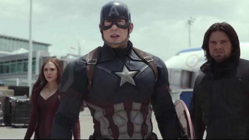 "Kadr z filmu ""Kapitan Ameryka: Wojna bohaterów"" http://o.aolcdn.com MARVEL"