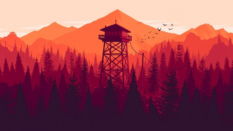 "Screen z gry ""Firewatch"" (źródło: youtube.com)"