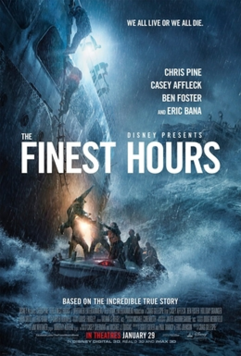 "Oficjalny plakat filmu ""Czas próby"" https://en.wikipedia.org/wiki/The_Finest_Hours_%282016_film%29"