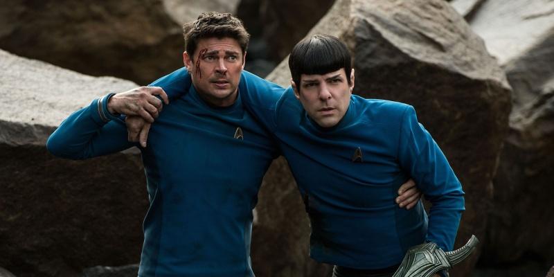"""Kadr z filmu """"Star Trek: W nieznane"""" (źródło: youtube.com)"""