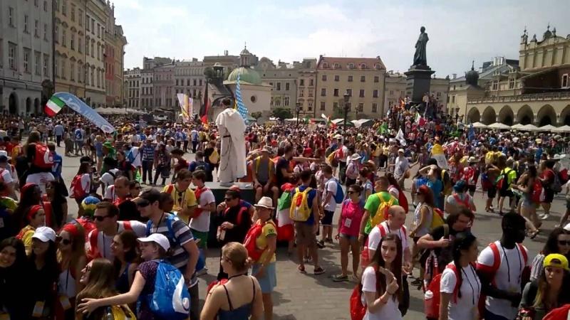 ŚDM Kraków 2016 (źródło: youtube.com/screenshot)
