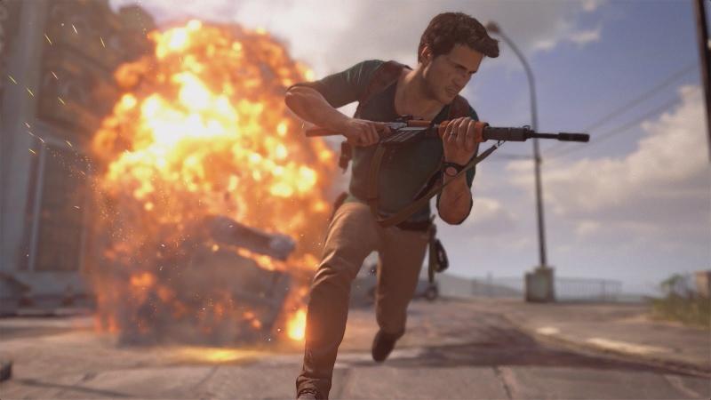 """Screen z gry """"Uncharted 4: Kres Złodzieja"""" (źródło: youtube.com)"""