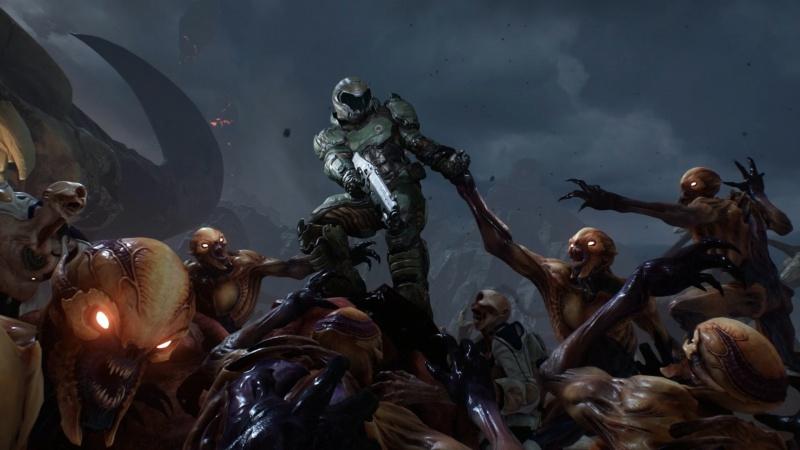 """""""Doom"""" – posmak old schoolu - Doom;id Software;recenzja;shooter;FPS;PC"""