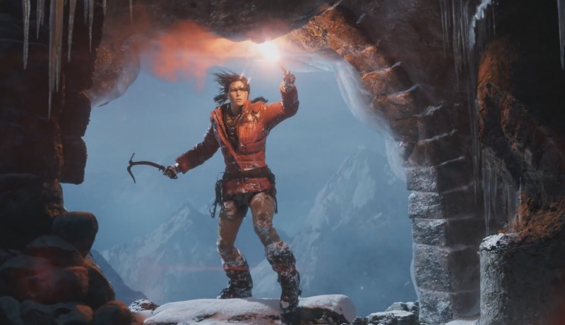 "Screen z gry ""Rise of the Tomb Raider"" (źródło: youtube.com)"