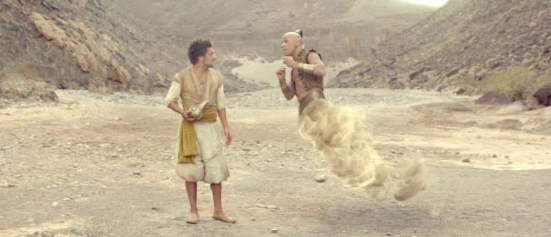 """Kadr z filmu """"Nowe przygody Aladyna"""" (źródło: youtube.com)"""