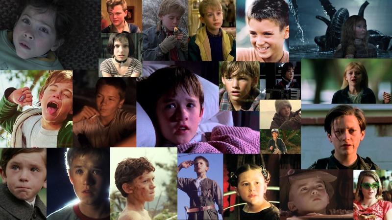 Dziecięcy aktorzy (źródło zdjęć: youtube.com, pinterest.com, wikia.com)
