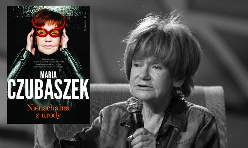 Maria Czubaszek (źródło: wikimedia.org/Ralf Lotys Sicherlich); Okładka (źródło: www.proszynski.pl)