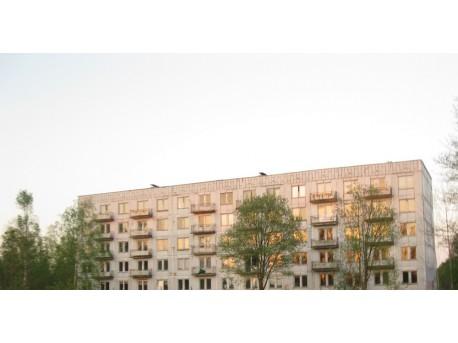 jeden z bloków mieszkalnych  (aut. zdj.: Marta Możdżeń)