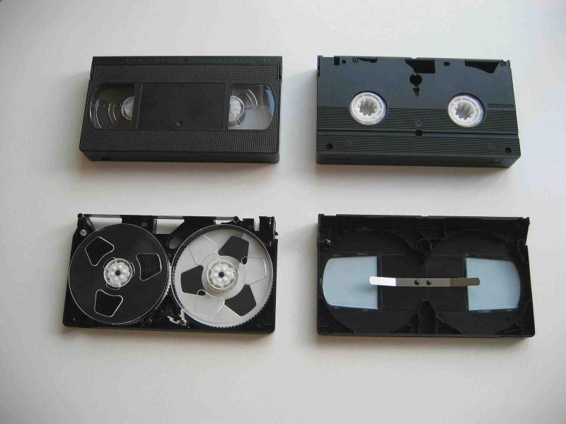 Kaseta VHS (źródło: wikimedia.org)