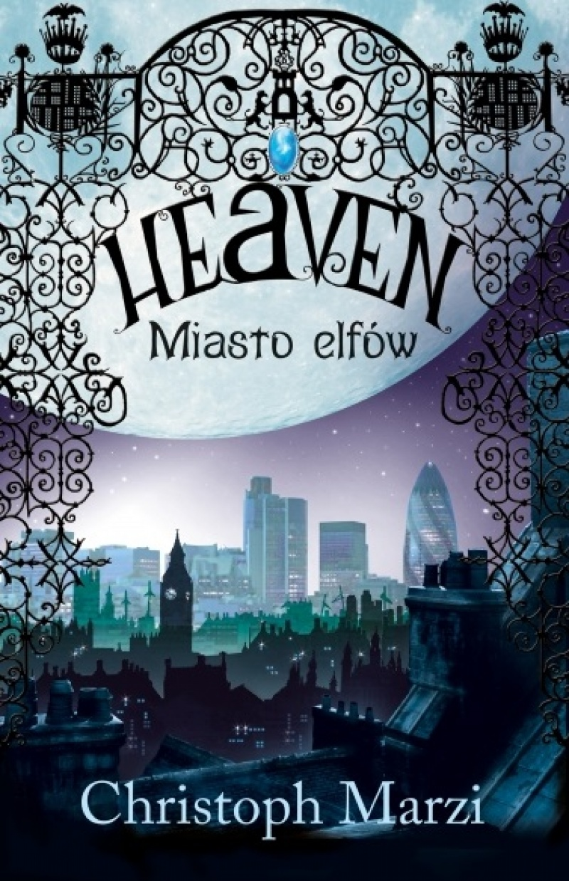 "Okładka książki ""Heaven. Miasto elfów"" (źródło: http://muza.com.pl)"