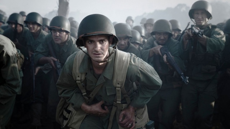 """Kadr z filmu """"Przełęcz ocalonych"""" (źródło: youtube.com)"""
