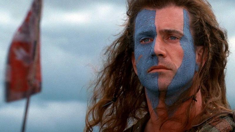 Mel Gibson jako William Wallace (źródło: youtube.com/screenshot)