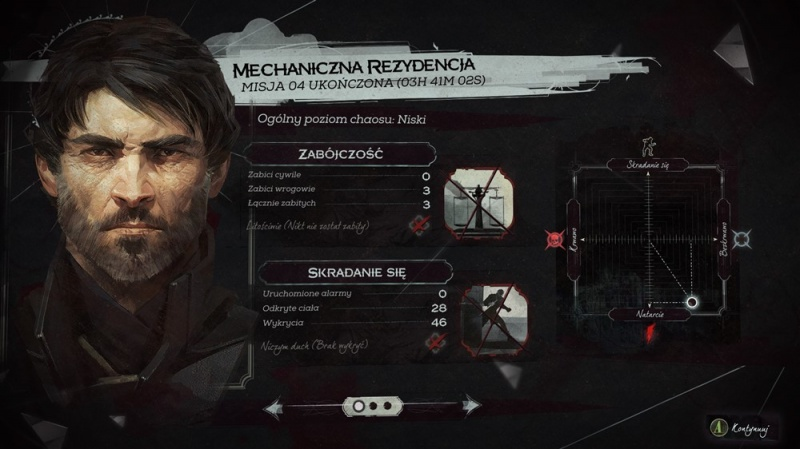 "Screen z gry ""Dishonored 2"""