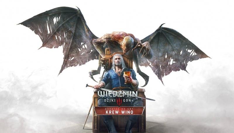 """Poster z gry """"Wiedźmin: Dziki Gon - Krew i wino"""" (źródło: youtube.com)"""