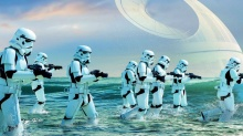 """Łotr 1. Gwiezdne wojny - historie"" – ""Mocą jestem silny!"" - Łotr 1. Gwiezdne wojny - historie;science fiction;przygodowy;spin-off;Gareth Edwards;Star Wars;klimat;Jyn Erso;Felicity Jones;K-2SO;Alan Tudyk;Donnie Yen;Diego Luna;Ben Mendelsohn;Moc;uniwersum"