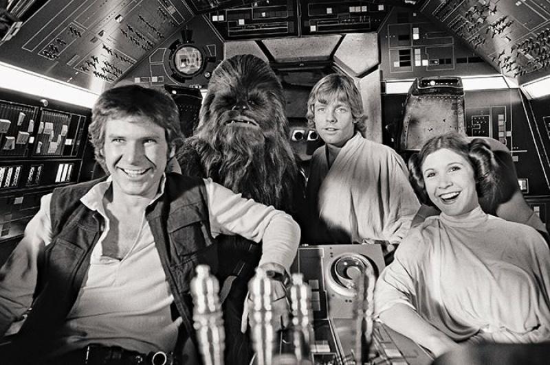 """Główni bohaterowie """"Star Wars"""" (źródło: www.flickr.com/photos/randar)"""