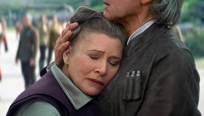 """Leia w """"Przebudzeniu mocy"""" (źródło: youtube.com/screenshot)"""
