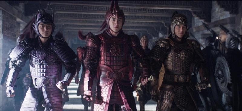 """Kadr z filmu """"Wielki mur"""" (źródło: youtube.com)"""