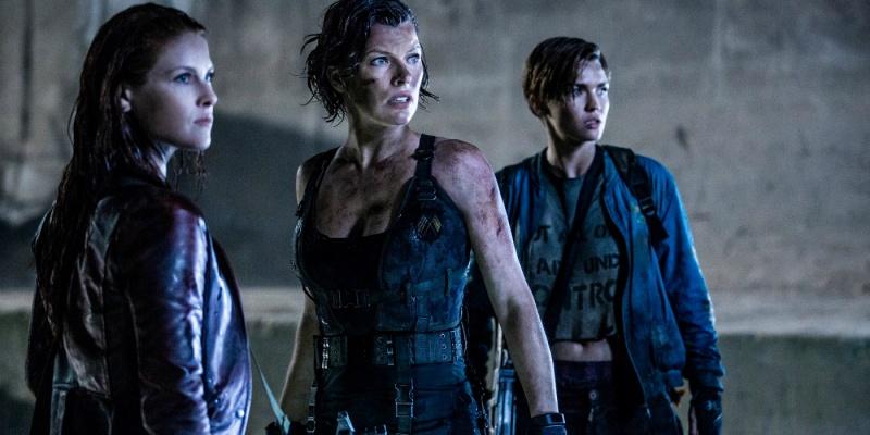 """Kadr z filmu """"Resident Evil: Ostatni rozdział"""" (źródło: youtube.com)"""