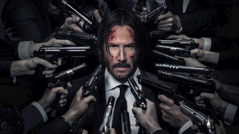 "Poster z filmu ""John Wick 2"" (źródło: youtube.com)"