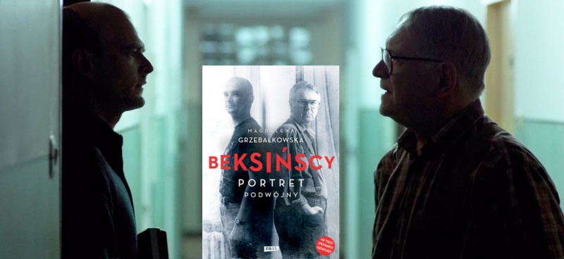 """Tło (kadr z filmu """"Ostatnia rodzina"""";youtube.com/screenshot); Okładka (źródło: http://www.znak.com.pl)"""