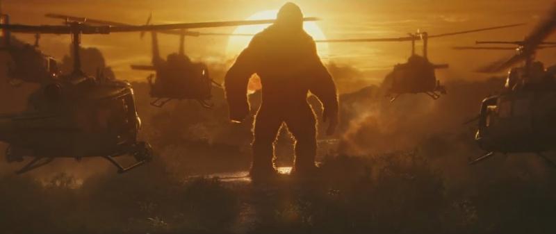 """Kadr z filmu """"Kong: Wyspa Czaszki"""" (źródło: youtube.com)"""