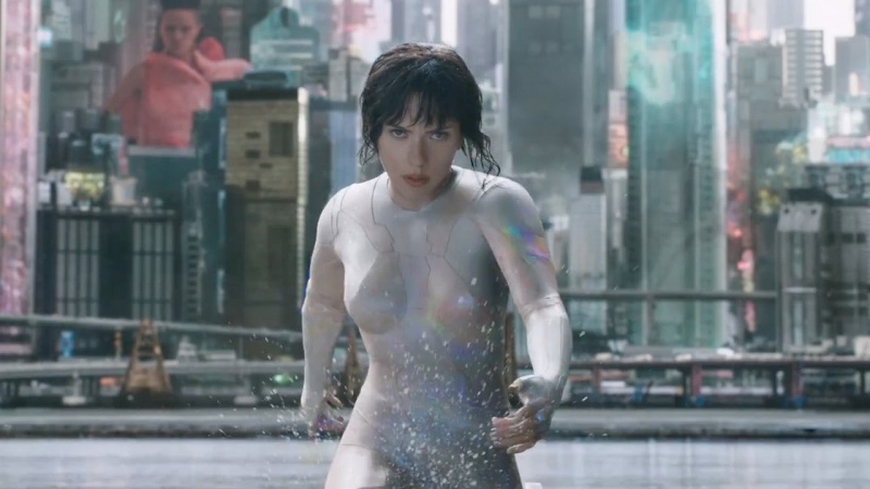 "Kadr z filmu ""Ghost in the Shell"" (źródło: youtube.com)"