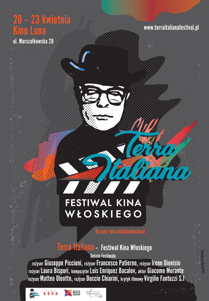 Oficjalny plakat festiwalu Terra Italiana (źródło: materiały promocyjne organizatora)