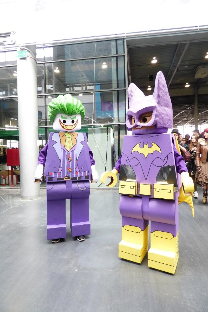 Pyrkon 2017 - Lego Joker i Lego Batman(fot. Małgorzata Morawska)