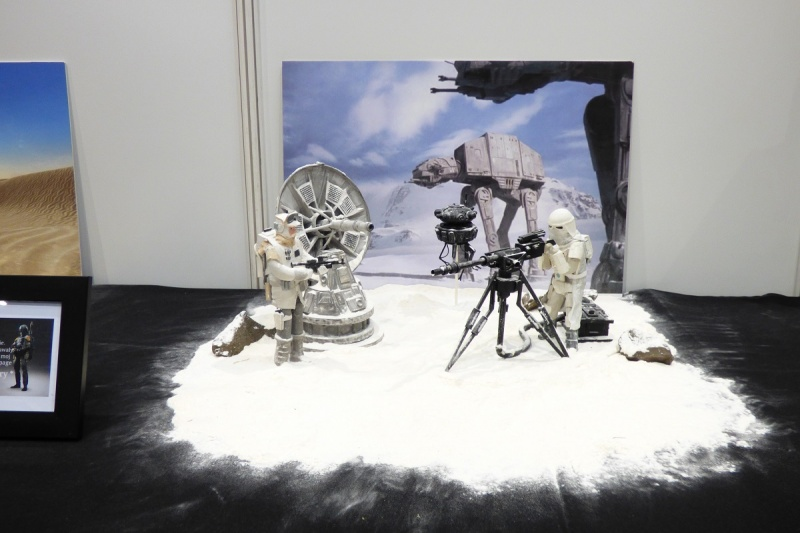 """Pyrkon 2017 - figurki i gadżety ze """"Star Wars"""" (fot. Małgorzata Morawska)"""