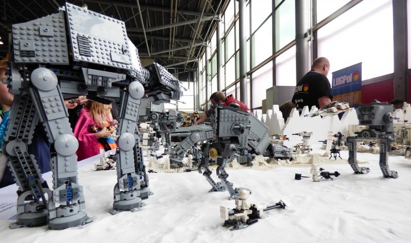"""Pyrkon 2017 - coś dla fanów klocków Lego i """"Star Wars"""" (fot. Małgorzata Morawska)"""