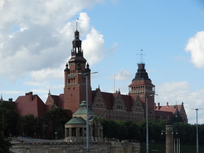 Dzień III - Wały Chrobrego - Szczecin, taras widokowy o długości około 500 m