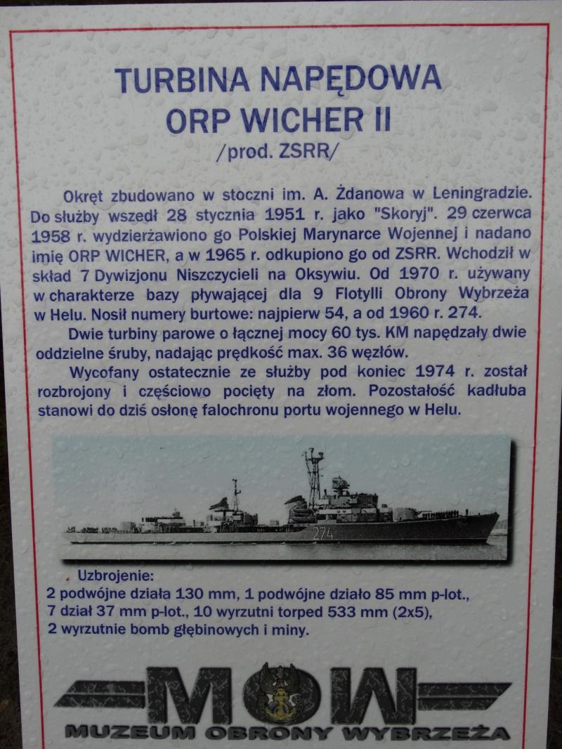 Dzień I - Turbina napędowa ORP Wicher II