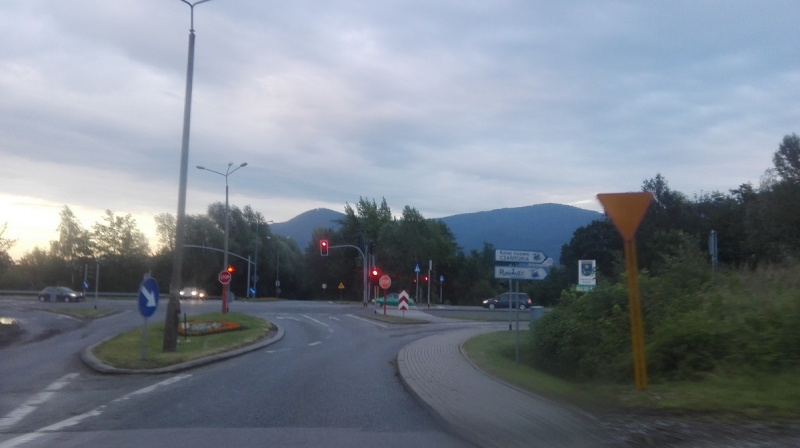 Dzień VIII - Widoki podczas pokonywanej trasy