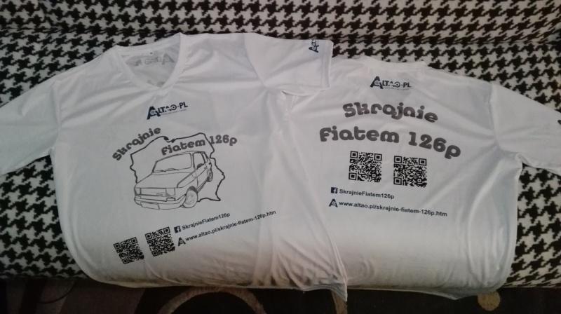 Koszulka z logiem Altao.pl (źródło zdjęcia: archiwum prywatne)
