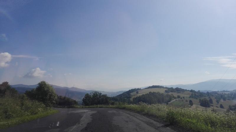 Dzień IX - Widoki z trasy