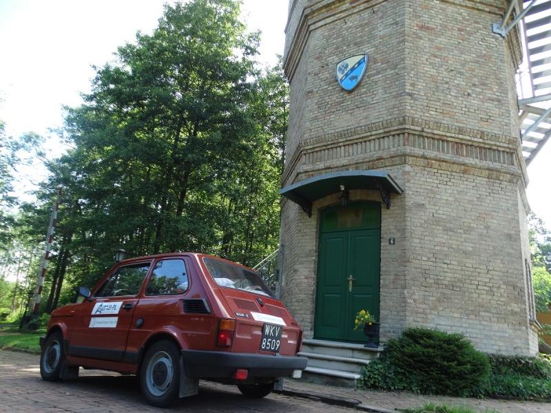 Dzień XII - Wieża ciśnień w Białowieży