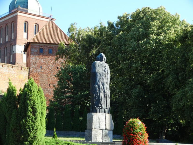 Dzień XIII - Pomnik Mikołaja Kopernika