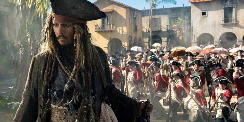 """Kadr z filmu """"Piraci z Karaibów: Zemsta Salazara"""" (źródło: youtube.com)"""