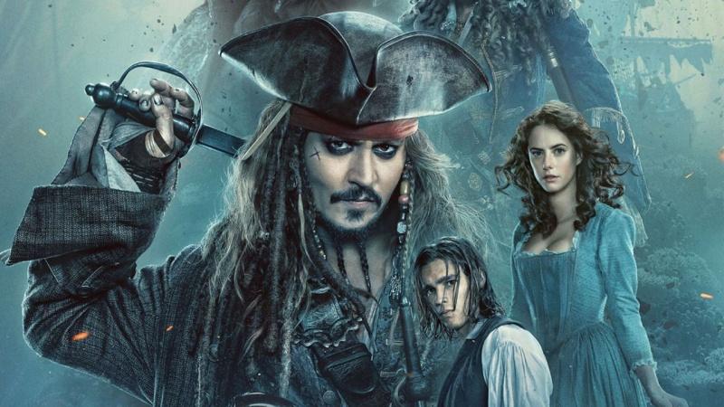 """Plakat z filmu """"Piraci z Karaibów: Zemsta Salazara"""" (źródło: youtube.com)"""