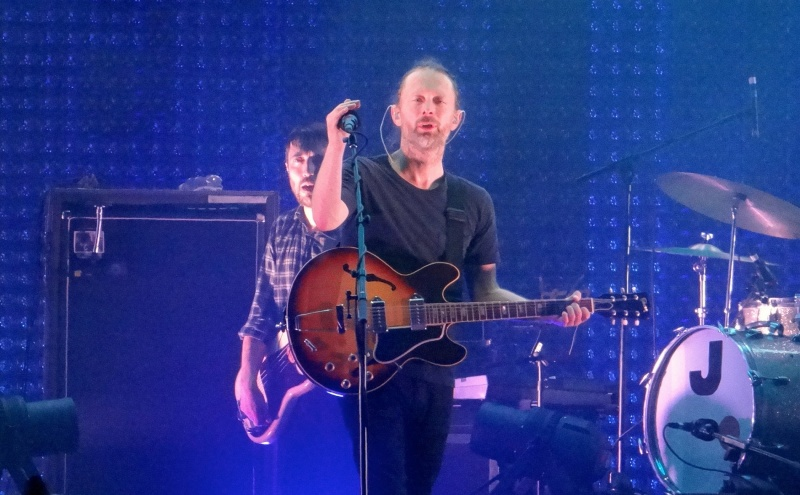 Radiohead (źródło: www.flickr.com/photos/ddalledo)