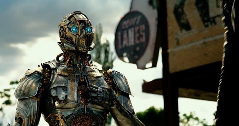 """Kadr z filmu """"Transformers: Ostatni Rycerz"""" (źródło: materiały prasowe)"""