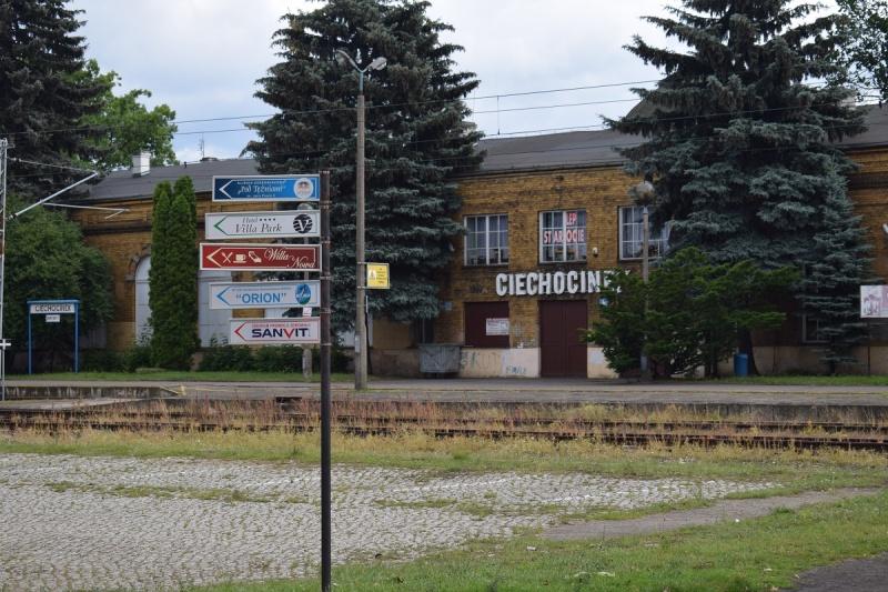 Witamy w Ciechocinku (fot. PJ)