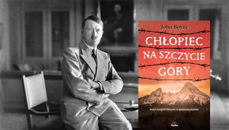 Tło - Adolf Hitler (źródło: wikimedia.org); Okładka (źródło: www.replika.eu)
