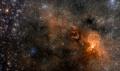 Odkryto potężną supegromadę galaktyk – Sarasvati!  - odkrycie;galaktyka;supergromada;Sarasvati;grupa;galaktyki;największa;daleka;4 mld lat;masa;20 biliardów Słońc;badacze;kosmos;Międzyuniwersyteckie Centrum Astronomii i Astrofizyki