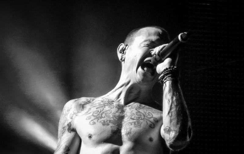 Chester Bennington  https://www.flickr.com/photos/chrisparker2012/