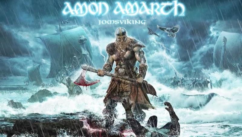 Okładka najnowszego albumu zespołu Amon Amarth (źródło: youtube.com/screenshot)