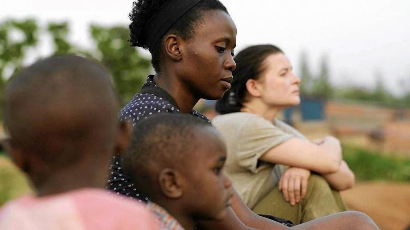 """Kadr z filmu """"Ptaki śpiewają w Kigali"""" (źródło:  materiały prasowe)"""