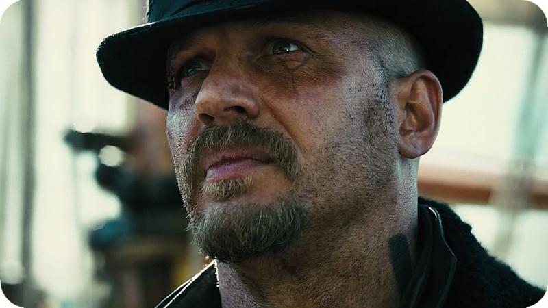 """Tom Hardy w świetnej roli jako James Keziah Delaney w serialu """"Tabu"""" (źródło: youtube.com/screenshot)"""