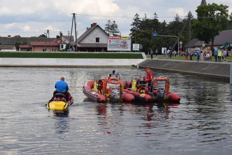 Nowy Duninów - Port Jachtowy - ratownicy wodni (fot. PJ)